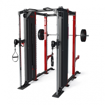 DFC POWER RACK WITH DUAL ADJUSTABLE PULLEY / 1DFC6